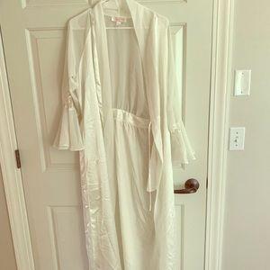 Beautiful White Robe